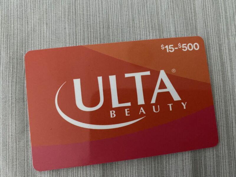 Ulta Gift Card, $80 VERIFIED