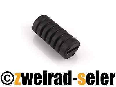 Fußschalthebelgummi Schalthebel Ganghebel Gummi schwarz Simson