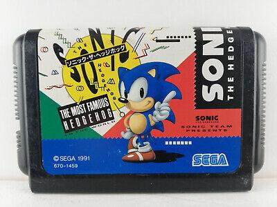 Sonic the Hedgehog - Megadrive / Genesis - 1991 - Japan Import