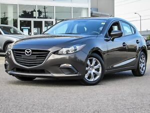 2014 MAZDA3 GX SPORT HATCHBACK 5 SPD MANUAL TITANIUM FLASH MICA