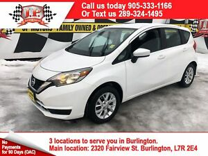 2018 Nissan Versa Note SV, Auto, Heated Seats, Back Up Camera