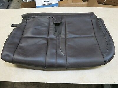 2008-2014 CADILLAC ESCALADE 2ND ROW LEFT SEAT LOWER BOTTOM CUSHION COVER LEATHER