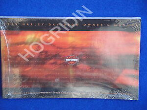 1999 Harley owners manual softail touring dyna sportster xl fatboy electra glide