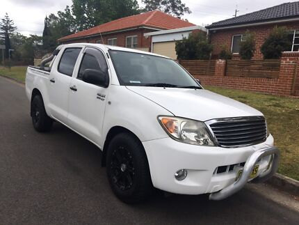 Excellent condition Toyota Hilux work mate dual cab