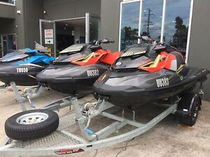 SEADOO RXP 300 2019 ON A BRAND NEW DUNBIER ROLLER GAL TRAILER