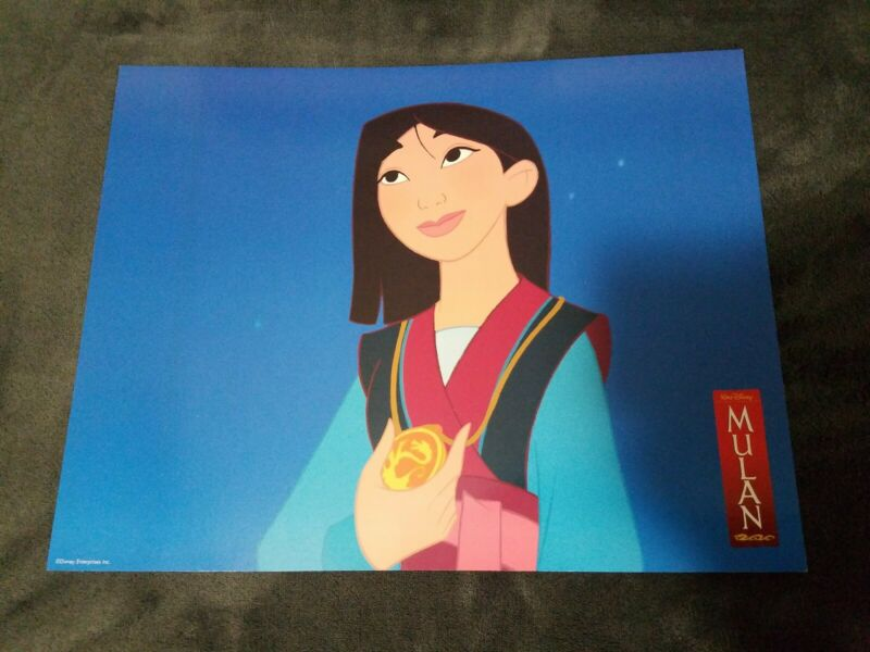 Mulan lobby cards - Walt Disney - Original International set of 12