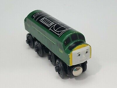 Thomas the Train THE DIESEL Engine Wooden Railway Toy Learning Curve