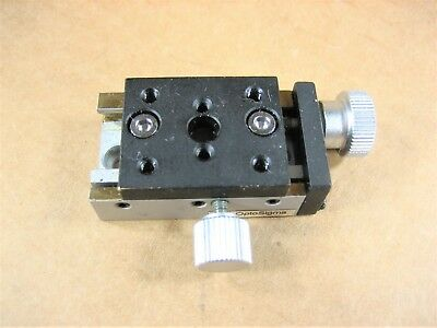 Optosigma - Linear Stage 30mm X 24mm 5mm Travel
