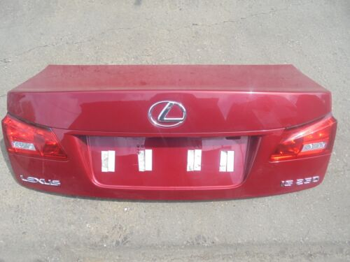 LEXUS IS250 REAR BOOTLID IN RED(3R1) TO FIT 2006-2009