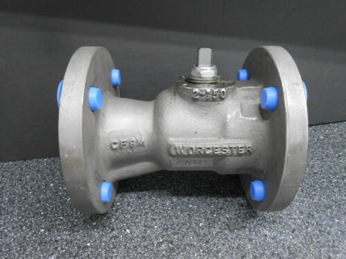 "FLOWSERVE WORCESTER 2"" 150LB FLANGED BALL VALVE POLYFILL SEAT BODY CF8M 500°F"