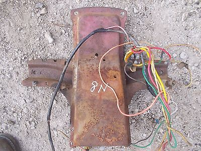 Ford 8n Tractor Dash Mount Mounting Bracket Panel And Wire Harness