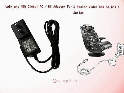 Global AC Adapter For X Rocker Pro Gaming Chair 51396 51492 51458 Power Supply