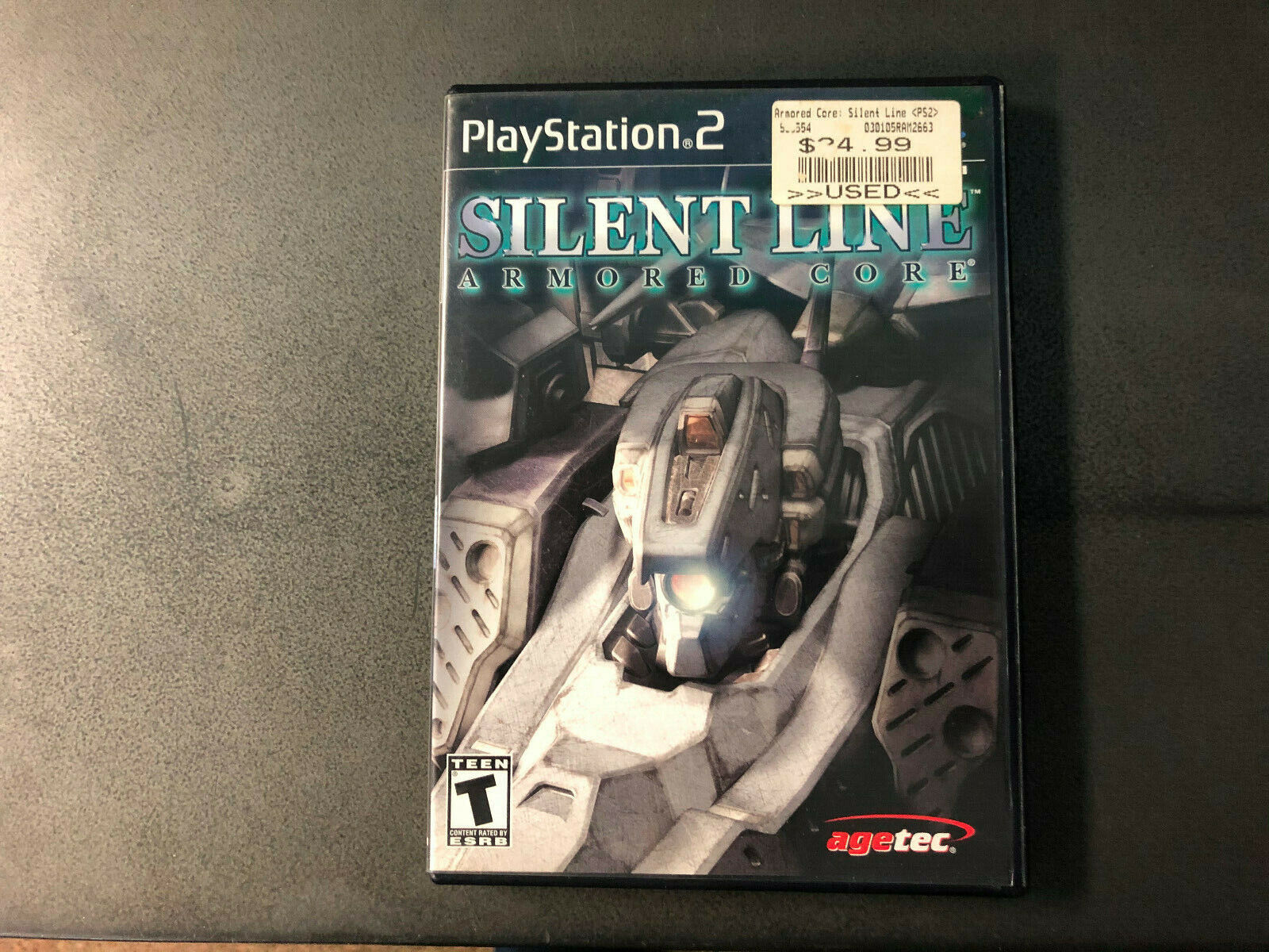 Armored Core Silent Line Sony PlayStation 2 PS2, 2003 CIB RARE Tested Working - $92.00