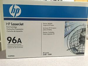 Genuine HP 96A LaserJet Toner Print Cartridge suits 2100 & 2200 Canning Vale Canning Area Preview