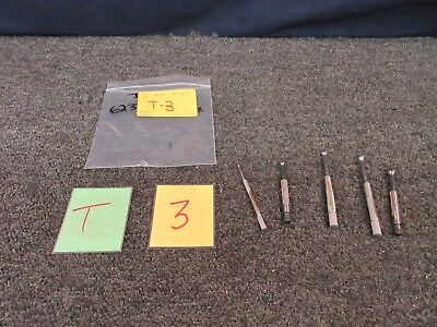 5 Small Hole Gauges Ls Starrett Spi Precision Measure Tool Military Used