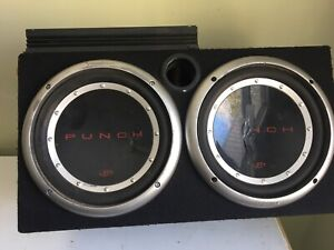 2 10 inch subs with 800 watt pioneer amp