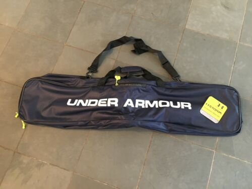 "NEW Under Armour Womens Lacrosse Travel Bag $80 44"" L x 7"" W x 12"" D NAVY $80"