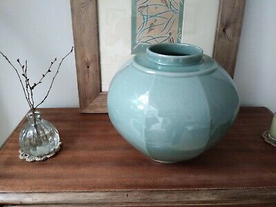 Korean Celadon Green Glazed Pottery