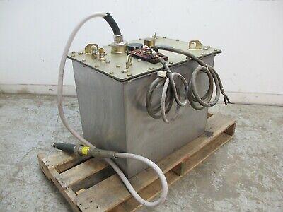 Rigaku Denki Co Model Tr-58 High Voltage Transformer 167 V 34 Amp 60 Kv 170 V