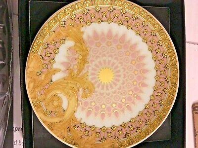 VERSACE BYZANTINE MEDUSA PLATE or COASTER PRESTIGE HOME DECOR VALENTINES SALE