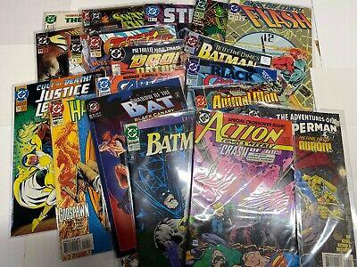 25 DC Comic Books. DC ONLY! No Duplicates! Superman Batman Wonder Woman Flash