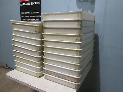 Wincochefs Supreme Lot Of 20 Commercial Assorted Bakerydough Proofing Pans