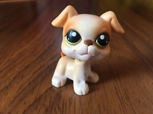 #235 VERY RARE Littlest Pet Shop Red Magnet Boxer Dog