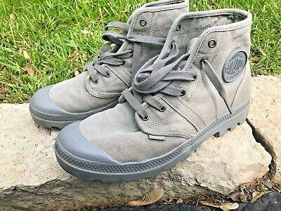 Palladium Men's PAMPA HI TITANIUM Boots (Size 10US)
