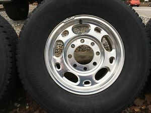 Set of 4 GMC / Chev 8 bolt Aluminum Rims