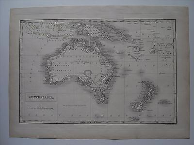 Map of Australasia  - 43½ cm x 32 cm (17¼