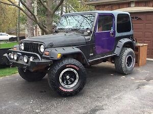 2001 TJ 4.0L for sale. Has AC