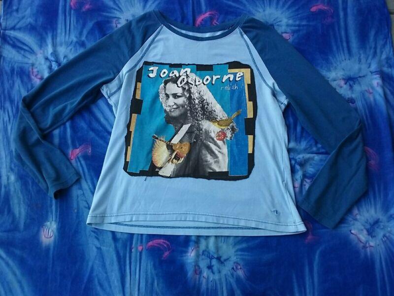 Joan Osborne Shirt,Relish Album,1990s Music,OOAK,Handmade,Music Shirt