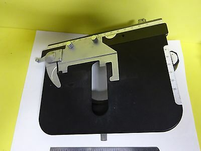 Microscope Part Stage Specimen Table Micrometer Nikon Japan As Is Binx7-21
