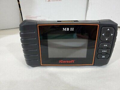 MERCEDES BENZ SPRINTER Diagnostic Scanner SRS ABS ENGINE iCarsoft MBII*NO CABLE*