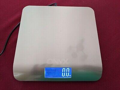 Onyx Digital Postal Scale - 5 Pound Lb. Capacity Usb Powered Precise 0.1 Oz