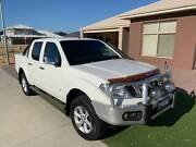 2012 Nissan Navara D40 V6 ST-X 550 Sports Auto (white) Landsdale Wanneroo Area Preview