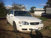 2000 Toyota Corolla, manual, petrol, Rego, RWC, cold A/C, 279000 km Toowoomba Toowoomba City Preview