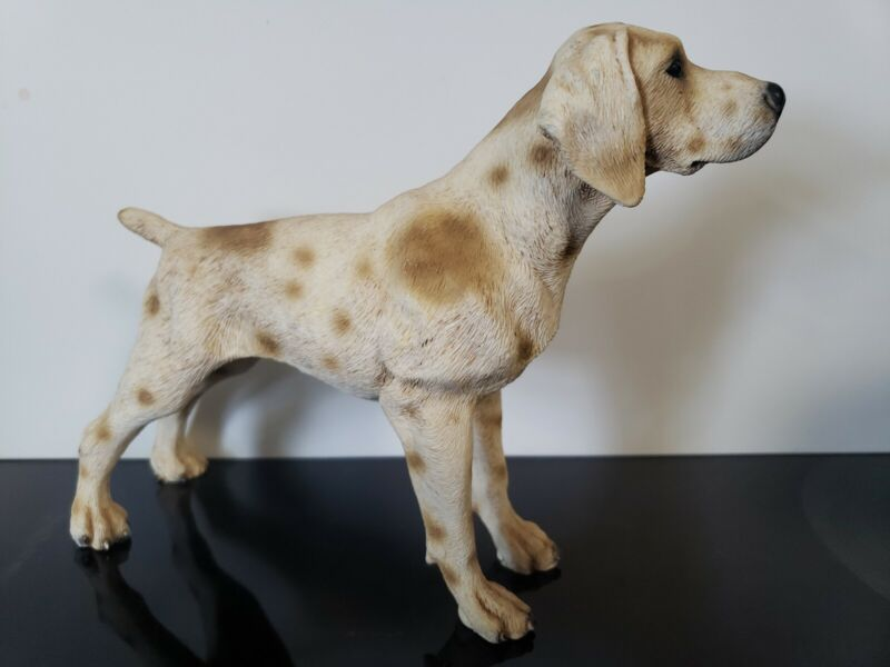 GERMAN SHORTHAIR Dog Figurine Italy Made By Neno