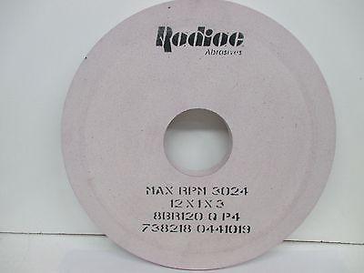 """Radiac 34078074 7/""""x 3//4/""""x 1-1//4/"""" RA46-J8-V8 Ruby Surface Grinding Wheel"""