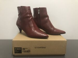 Red Le Chateau booties -size 8 (39)