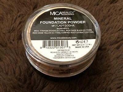 Best Mica Beauty Makeup Mineral Foundation Powder #MF-7 Lady Godiva 012022