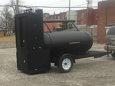 New Bbq Trailer Smoker