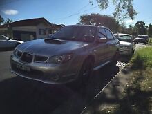 2006 Subaru Impreza WRX Sedan MY07 Wiley Park Canterbury Area Preview