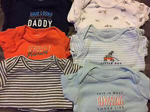 NB / 0-3 month baby boy clothing for sale