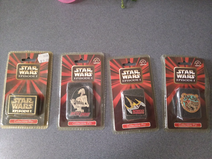 Collectable star wars pins