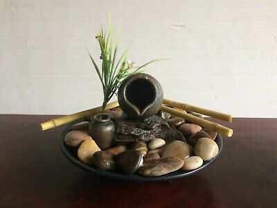 Indoor Tabletop Garden Bamboo Water Feature Bamboo Indoor Tabletop Fountain