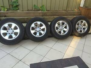 "Toyota Prado rims 17"" with Cooper Tyres Hillsborough Maitland Area Preview"