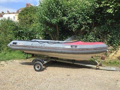 Avon Searider Rib Boat and road trailer