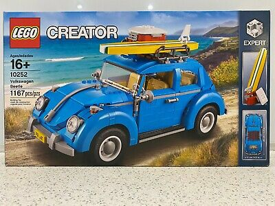Lego 10252 Creator Volkswagen Beetle - New in Sealed Box NIB