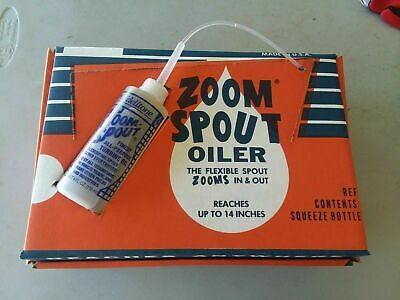 1 ZOOM SPOUT SEWING MACHINE OIL 4OZ  ALL PURPOSE LUBRICATING OIL